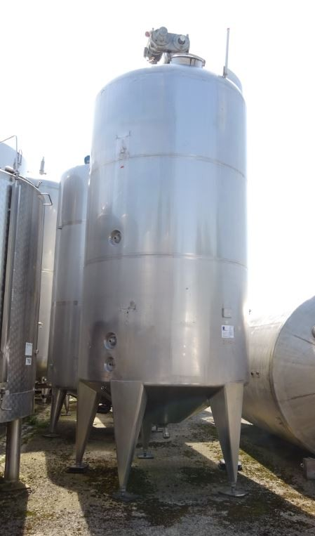Behälter 15.000 Liter aus V2A, gebraucht, isoliert