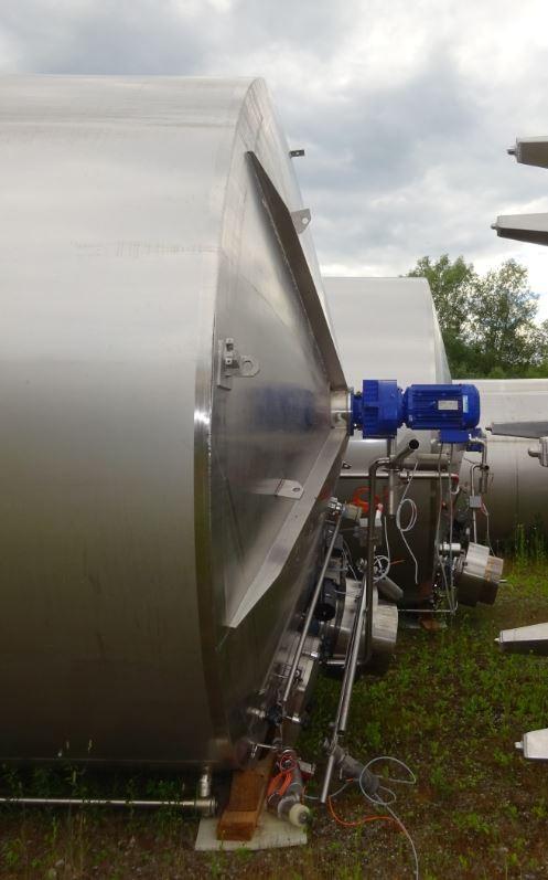 Behälter 40.000 Liter aus V2A, gebraucht , isoliert