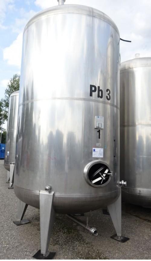 Behälter 12.000 Liter aus V4A, gebraucht, einwandig