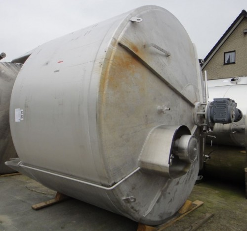 Behälter 17.000 Liter aus V2A, gebraucht, isoliert
