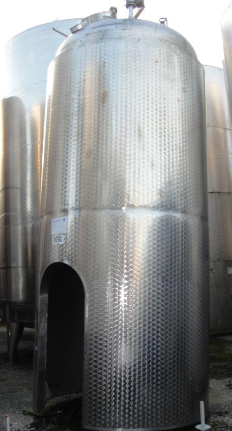 Behälter 4.000 Liter aus V4A, isoliert, gebraucht