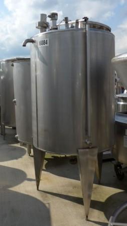 Behälter 900 Liter aus V2A, einwandig, gebraucht