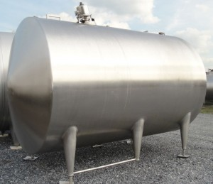 Behälter 11.000 Liter aus V2A, isoliert, gebraucht