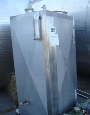 Behälter 900 Liter aus V2a, einwandig