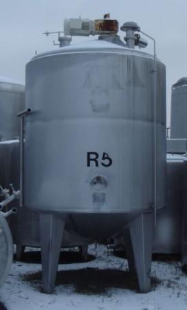 Behälter 7.500 Liter aus V2A, isoliert