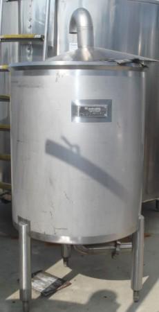 Behälter 500 Liter aus V2A, einwandig
