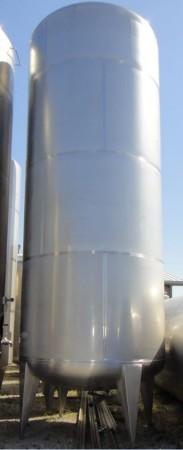 Behälter 25.000 Liter aus V2A, einwandig, gebraucht