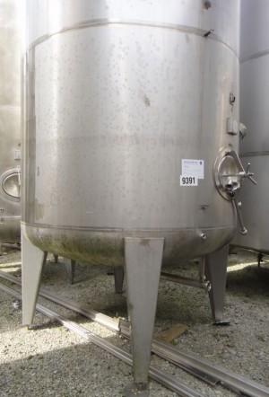 Behälter 23.980 Liter aus V2A, einwandig, gebraucht