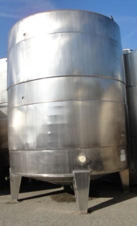Behälter 29.000 Liter aus V2A, gebraucht, temperierbar