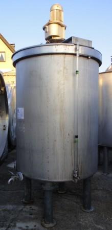 Behälter 2.000 Liter aus V4A, gebraucht , einwandig