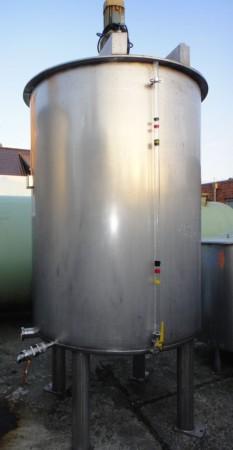 Behälter 2.085 Liter aus V4A einwandig