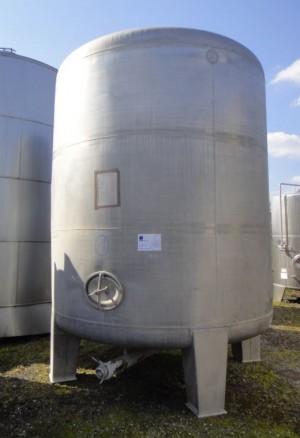 Behälter 15.000 Liter aus V2A, gebraucht, einwandig