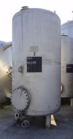 Behälter 5.500 Liter aus V2A, gebraucht, einwandig
