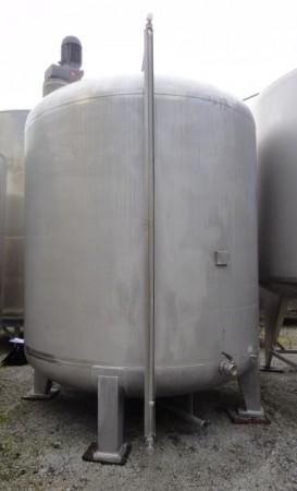 Behälter 10.950 Liter aus V2A, gebraucht, einwandig