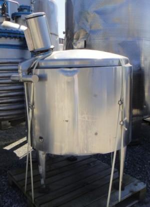 Behälter 600 Liter aus V2A, gebraucht, isoliert