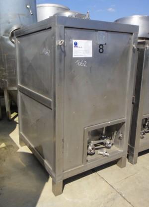 Druckbehälter 491 Liter aus V2A, genraucht, isoliert