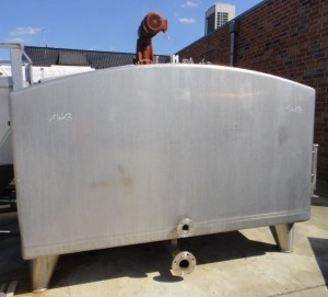 Behälter 5.500 Liter aus V4A, gebraucht, isoliert