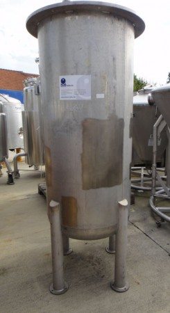Behälter 500 Liter aus V4A, gebraucht. einwandig