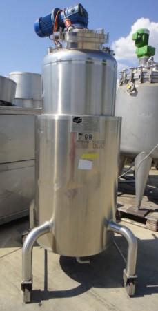 Behälter 500 Liter aus V4A, gebraucht, temperierbar, isoliert