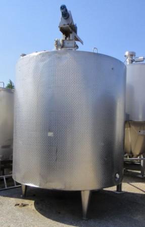 Behälter 10.000 Liter aus V2A, gebraucht, isoliert