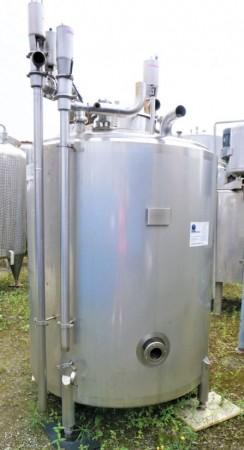 Behälter 1.000 Liter aus V4A, gebraucht, isoliert