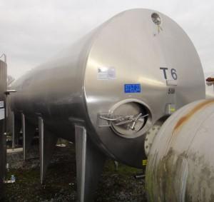 Behälter 20.000 Liter aus V2A, gebraucht, isoliert