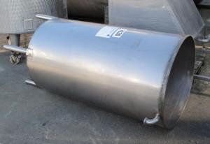 Behälter 750 Liter aus V2A, gebraucht, einwandig