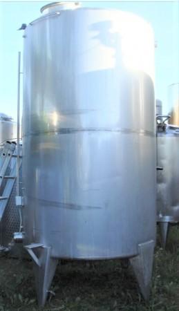 Behälter 5.000 Liter aus V2A, gebraucht, einwandig