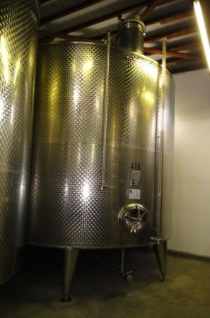 Behälter 35.800 Liter aus V2A, gebraucht, einwandig