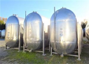 Behälter 15.500 Liter aus V2A, gebraucht, einwandig
