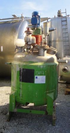 Behälter 600 Liter aus V4A, gebraucht