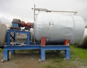 Behälter 5.000 Liter aus V4A, gebraucht, isoliert, temperierbar