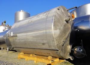 Behälter 12.500 Liter aus V4A, gebraucht, einwandig
