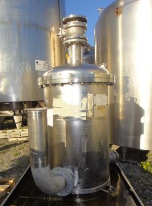 Druckbehälter 225 Liter aus V4A, gebraucht, einwandig