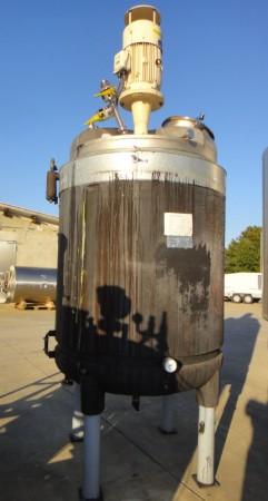 Behälter 2.000 Liter aus V2A, gebraucht, temperierbar, isoliert