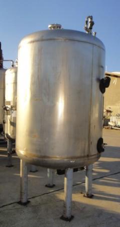 Behälter 2.000 Liter aus V2A, gebraucht, einwandig