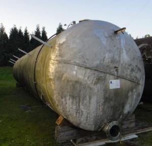 Drucknbehälter 40.000 Liter aus V2A, gebraucht, einwandig