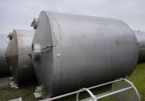 Behälter 25.000 Liter aus V2A, gebraucht, isoliert