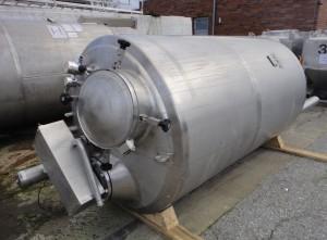 Behälter 3.200 Liter aus V2A, gebraucht temperierbar, isoliert