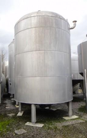 Behälter 15.700 Liter aus V4A, gebraucht, temperierbar, isoliert