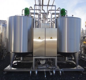Behälter / Tank / Silo 2.600 Liter