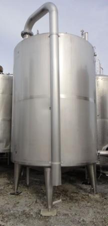 Behälter 12.000 Liter aus V2A, gebraucht, isoliert
