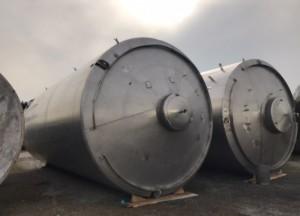 Tank 100.000 Liter aus V2A, isoliert, gebraucht