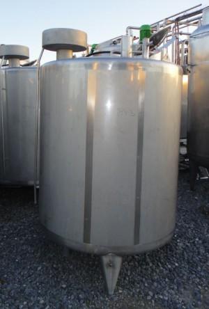 Behälter 1.800 Liter aus V4A, gebraucht, einwandig