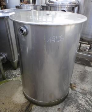 Behälter 300 Liter aus V2A, gebraucht, einwandig