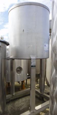 Behälter 1.200 Liter aus V2A, gebraucht, einwandig