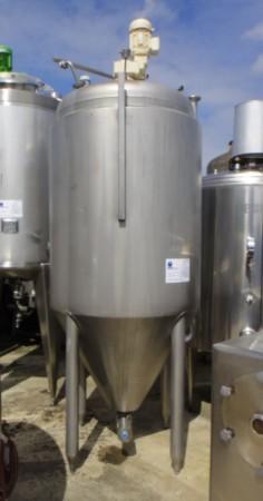 Behälter 1.000 Liter aus V2A, gebraucht, isoliert