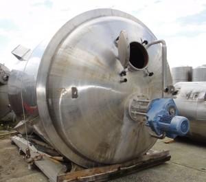 Druckbehälter 15.000 Liter aus V2A, gebraucht, isoliert