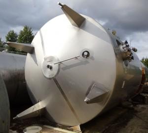 Druckbehälter 33.000 Liter aus V2A, gebraucht, isoliert