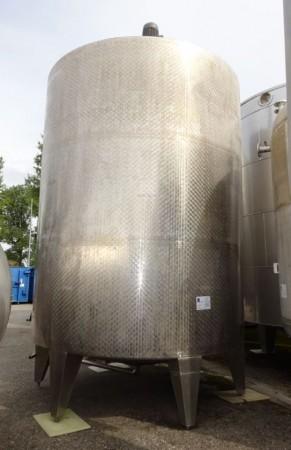Behälter 28.000 Liter aus V2A, gebraucht, einwandig